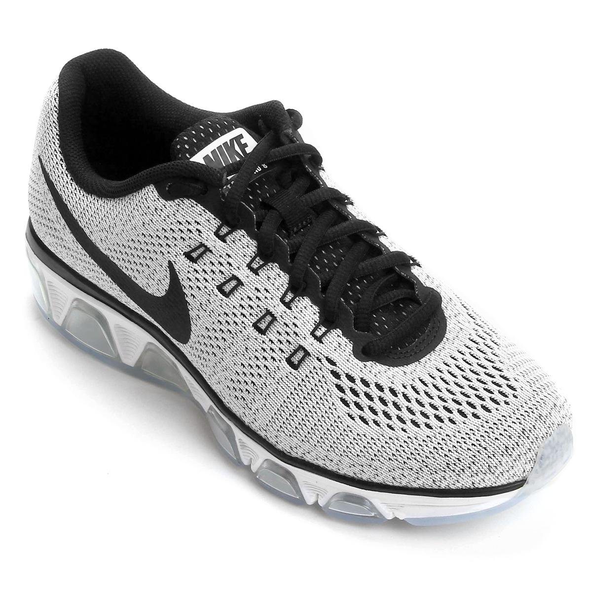 buy popular 51bf8 913b1 Tênis Nike Air Max Tailwind 8 Masculino - Branco e Preto