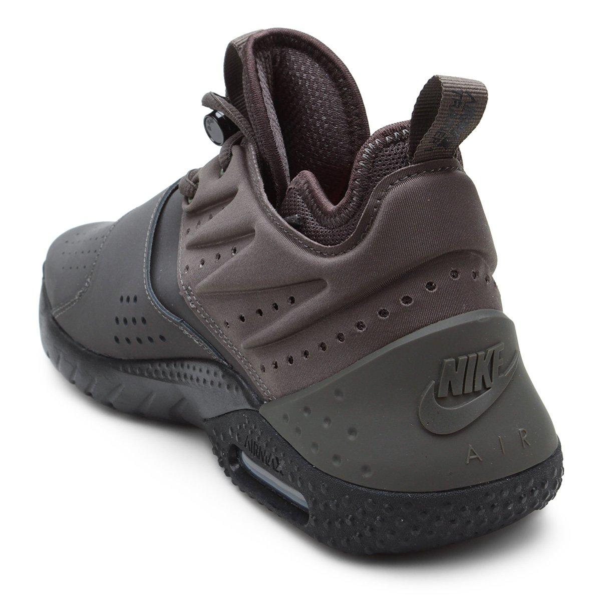 3c810dd5fa Tênis Nike Air Max Trainer 1 Leather Masculino - Chumbo e Verde ...