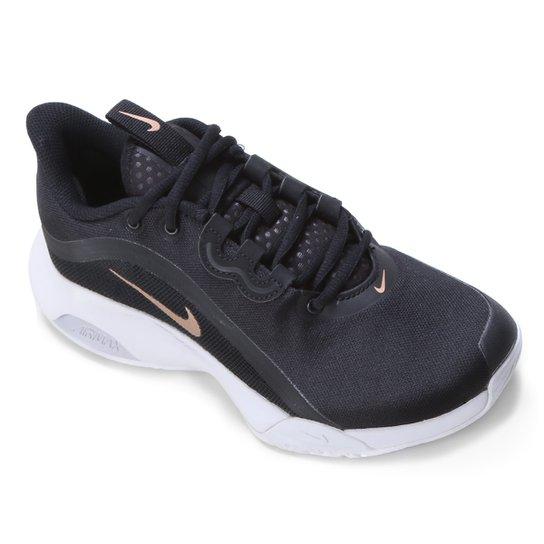 Tênis Nike Air Max Volley Feminino - Preto+Dourado