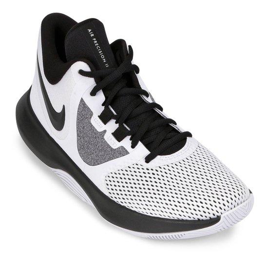 Tênis Nike Air Precision II Masculino - Branco+Preto