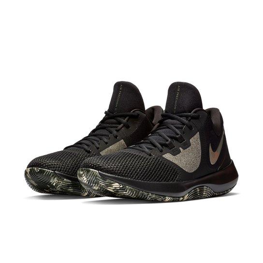 Tênis Nike Air Precision II Masculino - Preto+verde