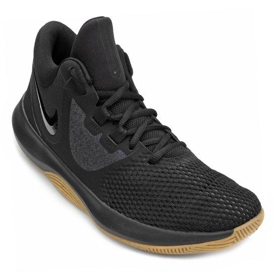 Tênis Nike Air Precision II Masculino - Preto+Bege