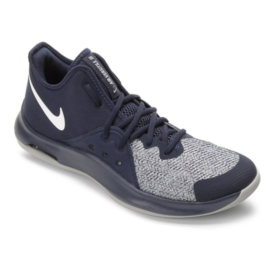 Tênis Nike Air Versitile III Masculino - Marinho+Cinza