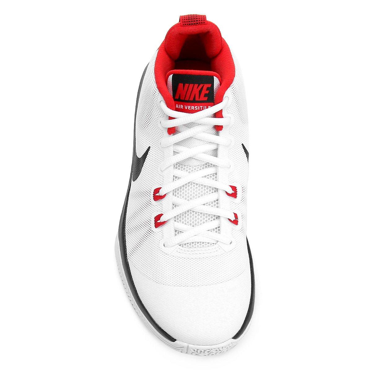 597e6affd3 Tênis Nike Air Versitile Masculino - Branco e Vermelho - Compre ...