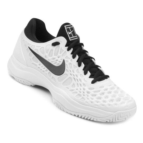 Tênis Nike Air Zoom Cage 3HC Masculino - Branco+Preto