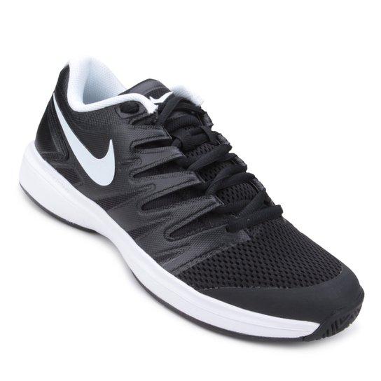 Tênis Nike Air Zoom Prestige HC Masculino - Preto+Branco