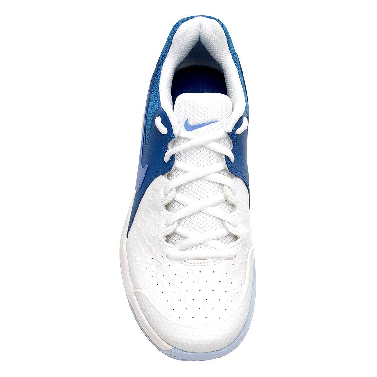 Branco e Feminina Azul Claro Zoom Resistance Tênis Nike Air Y7wXqTTR