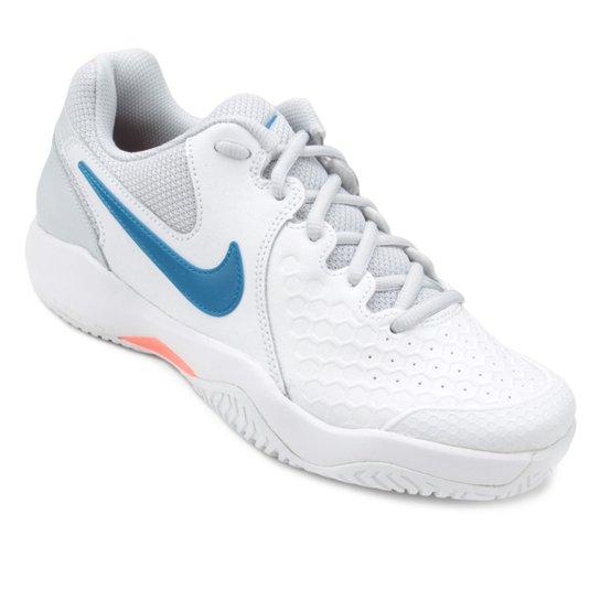 Tênis Nike Air Zoom Resistance Feminino - Branco+Azul