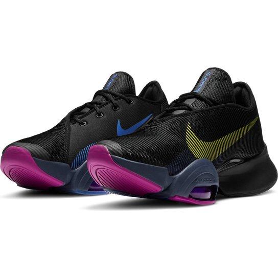 Tênis Nike Air Zoom Superrep 2 Feminino - Preto+Vermelho