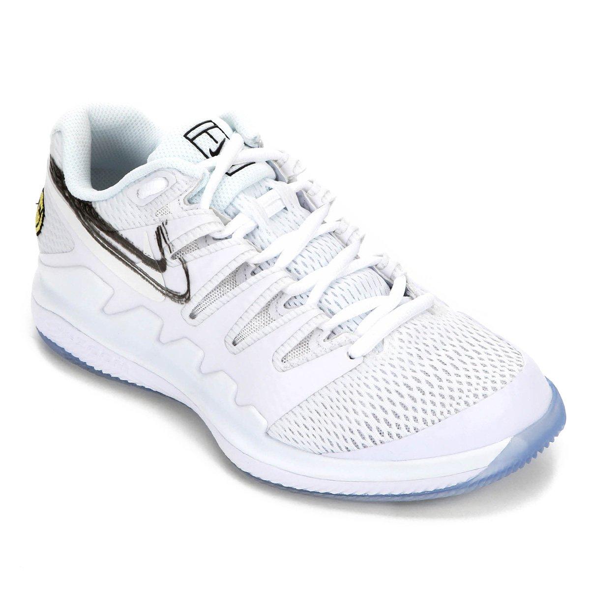 Tênis Nike Air Zoom Vapor X Feminino Branco E Preto