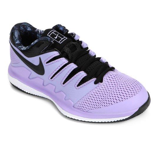 Tênis Nike Air Zoom Vapor X Feminino - Roxo+Preto