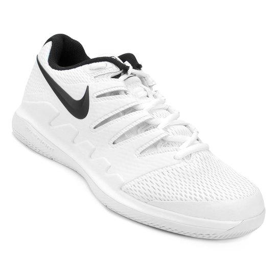 Tênis Nike Air Zoom Vapor X HC Masculino - Branco+Preto