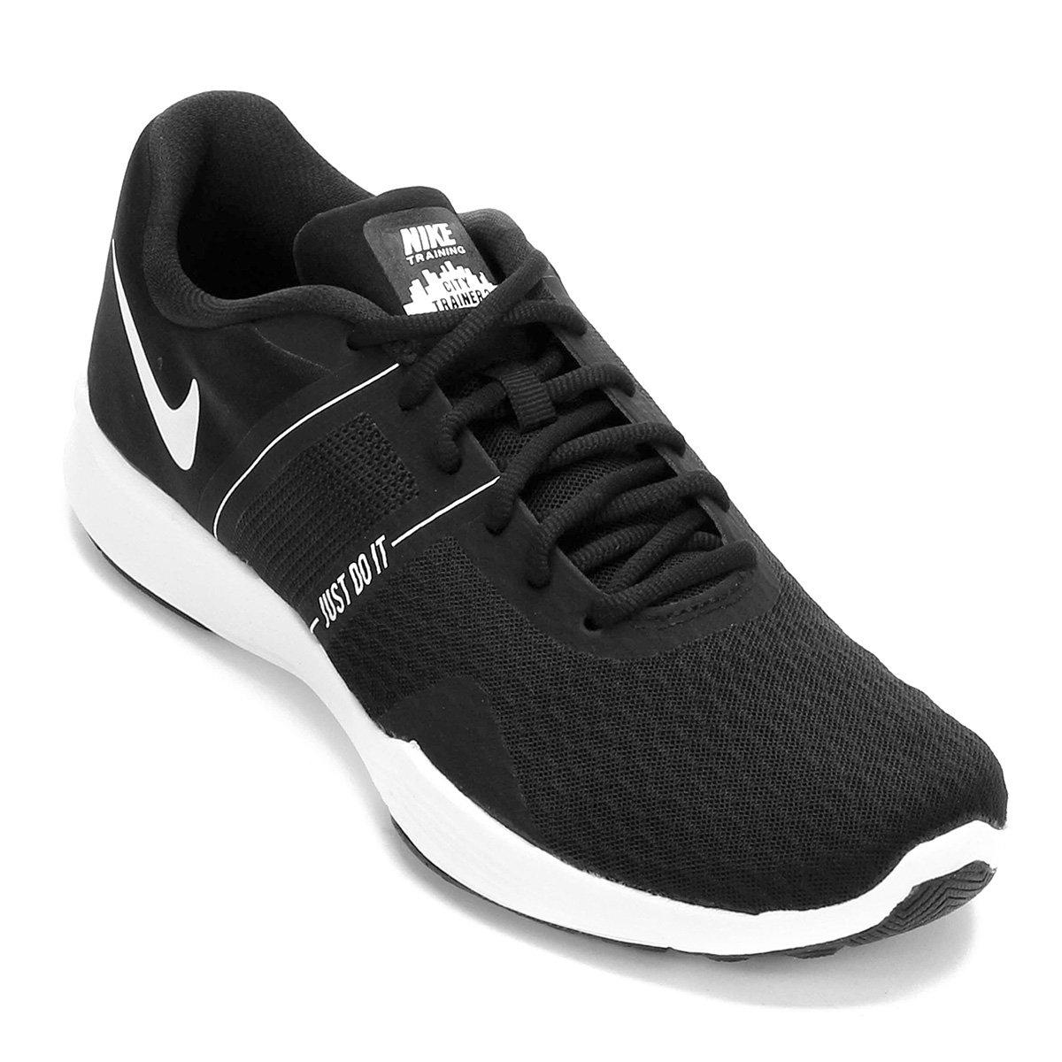 Tênis Nike City Trainer 2 Feminino Preto E Branco