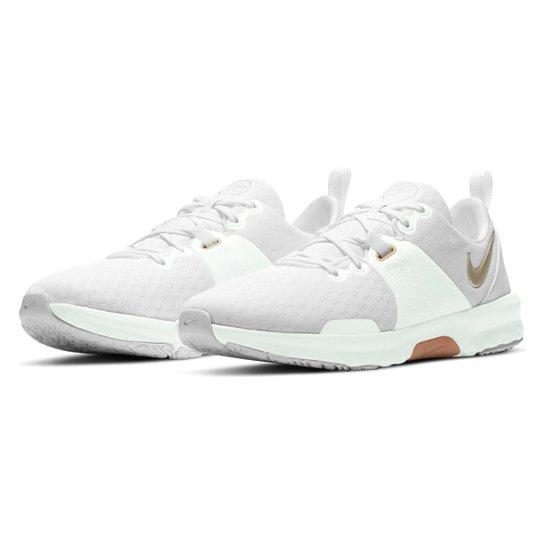 Tênis Nike City Trainer 3 Feminino - Branco+dourado