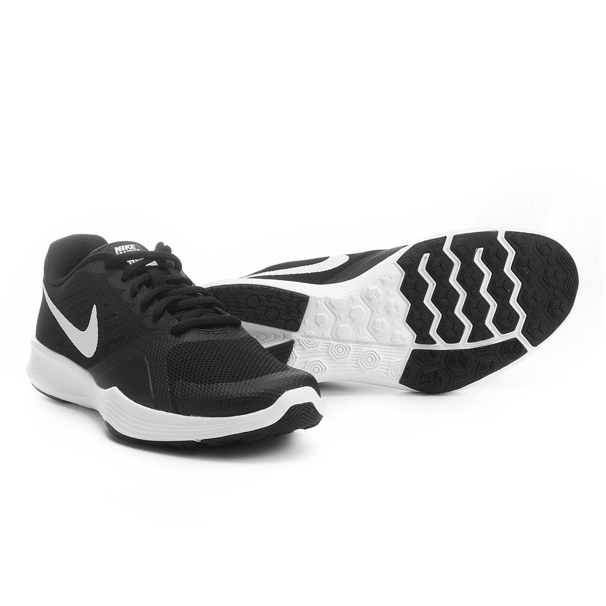 Tênis Nike City Trainer Feminino - Preto e Branco - Compre Agora ... f307819854fb2