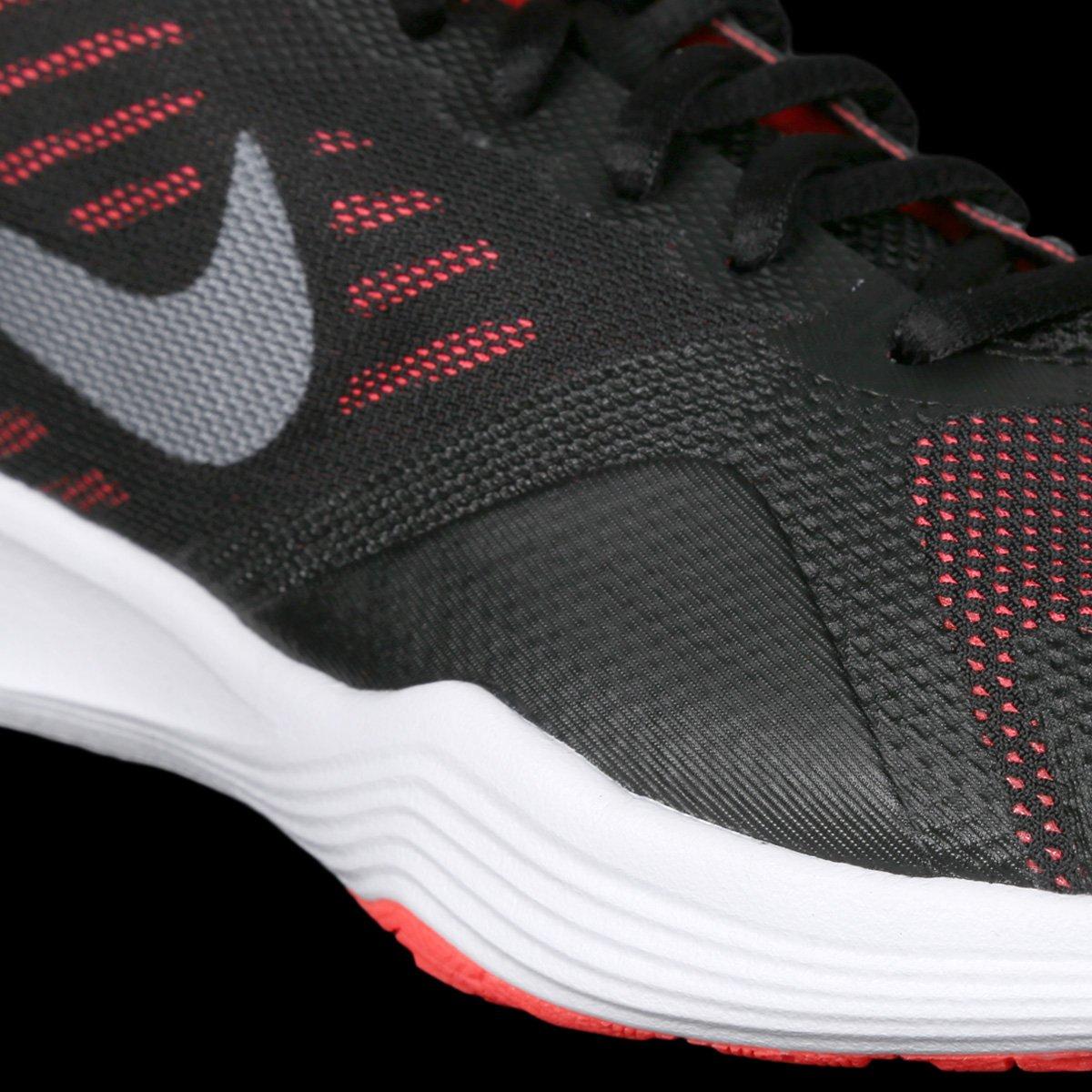 a83c5e93f7c50 Tênis Nike City Trainer Feminino - Preto e Vermelho - Compre Agora ...