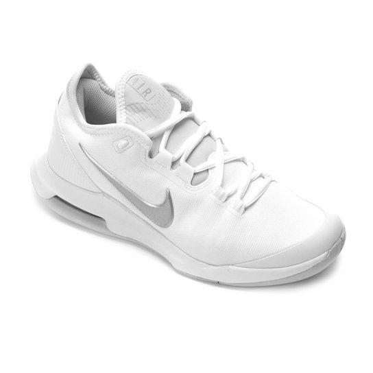 Tênis Nike Court Air Max Wildcard Feminino - Branco+prata