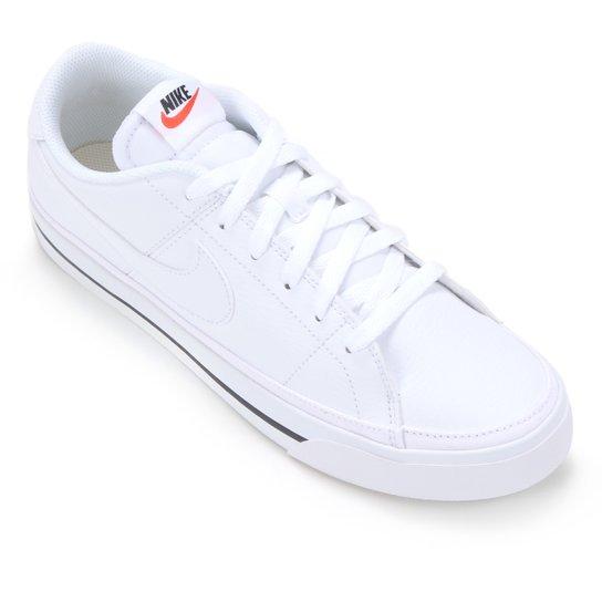 Tênis Nike Court Legacy Masculino - Branco+Preto