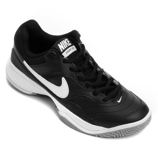 Tênis Nike Court Lite Masculino - Preto+Branco
