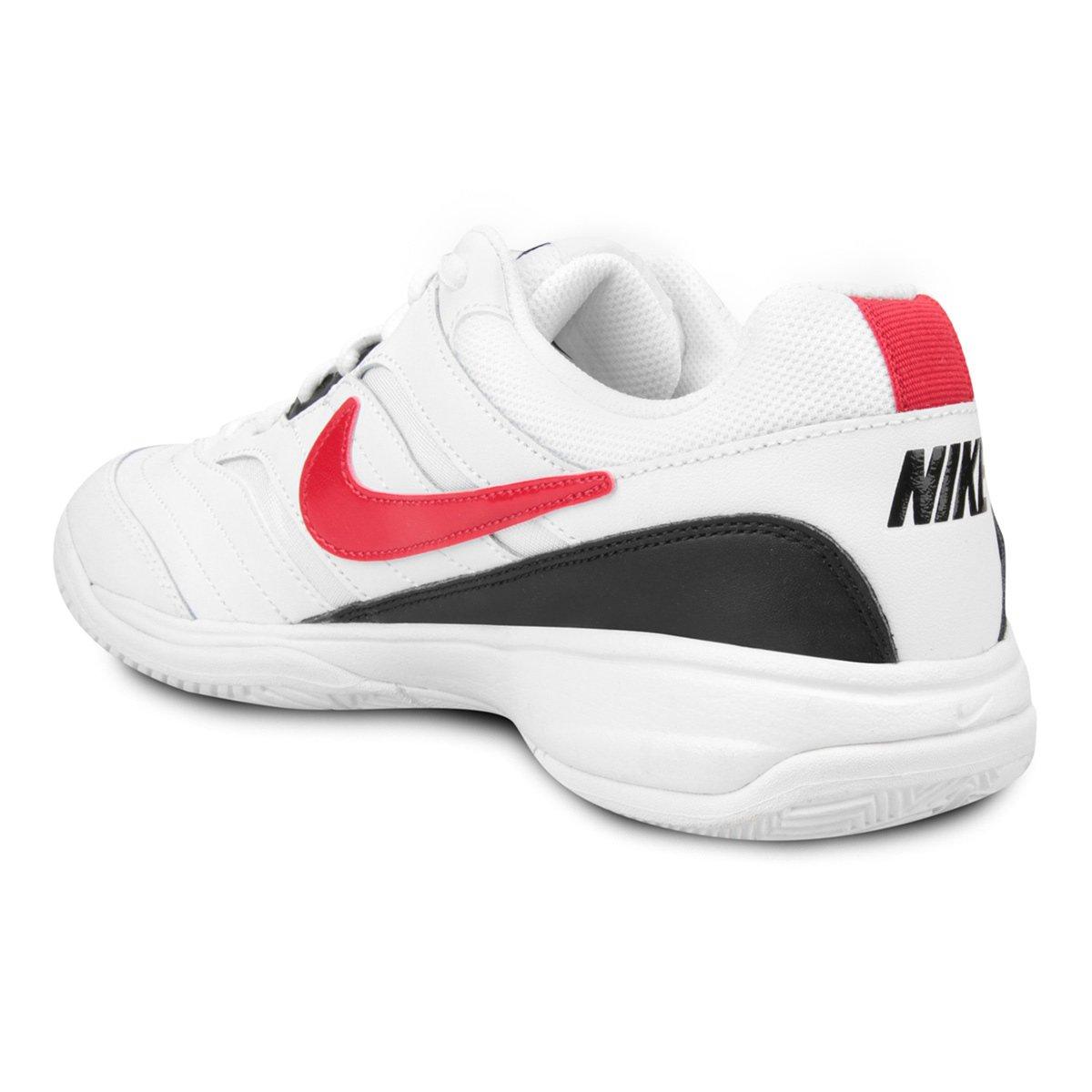 Tênis Nike Court Lite Masculino - Gelo e Vermelho - Compre Agora ... 74672892fec67