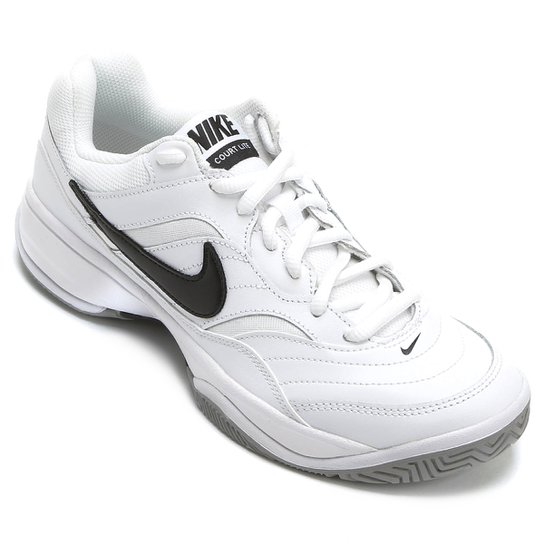 Tênis Nike Court Lite Masculino - Branco+Preto