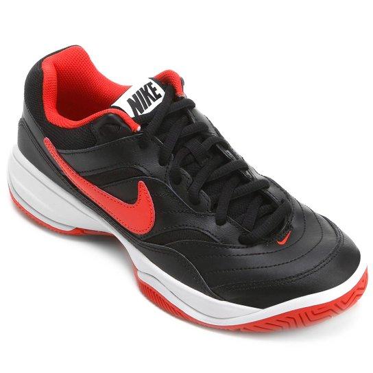 Tênis Nike Court Lite Masculino - Preto+Vermelho