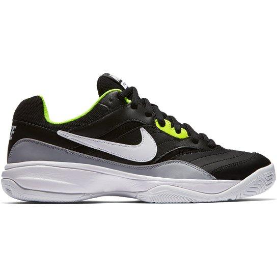 Tênis Nike Court Lite Masculino - Preto+Cinza