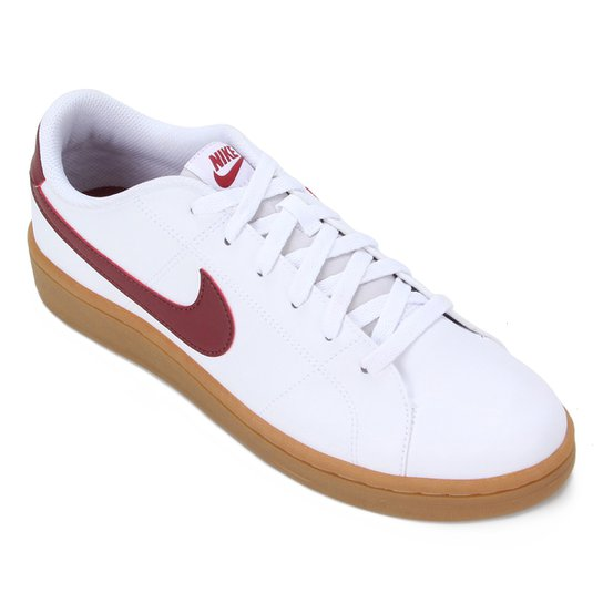 Tênis Nike Court Royale 2 Masculino - Branco+Vermelho