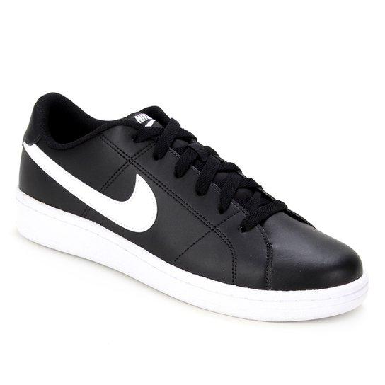 Tênis Nike Court Royale 2 Masculino - Preto+Branco