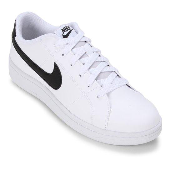 Tênis Nike Court Royale 2 Masculino - Branco+Preto