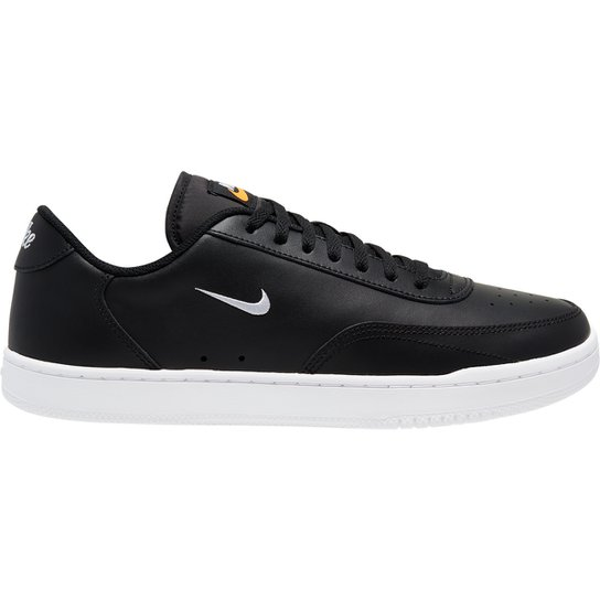 Tênis Nike Court Vintage Masculino - Preto+Laranja