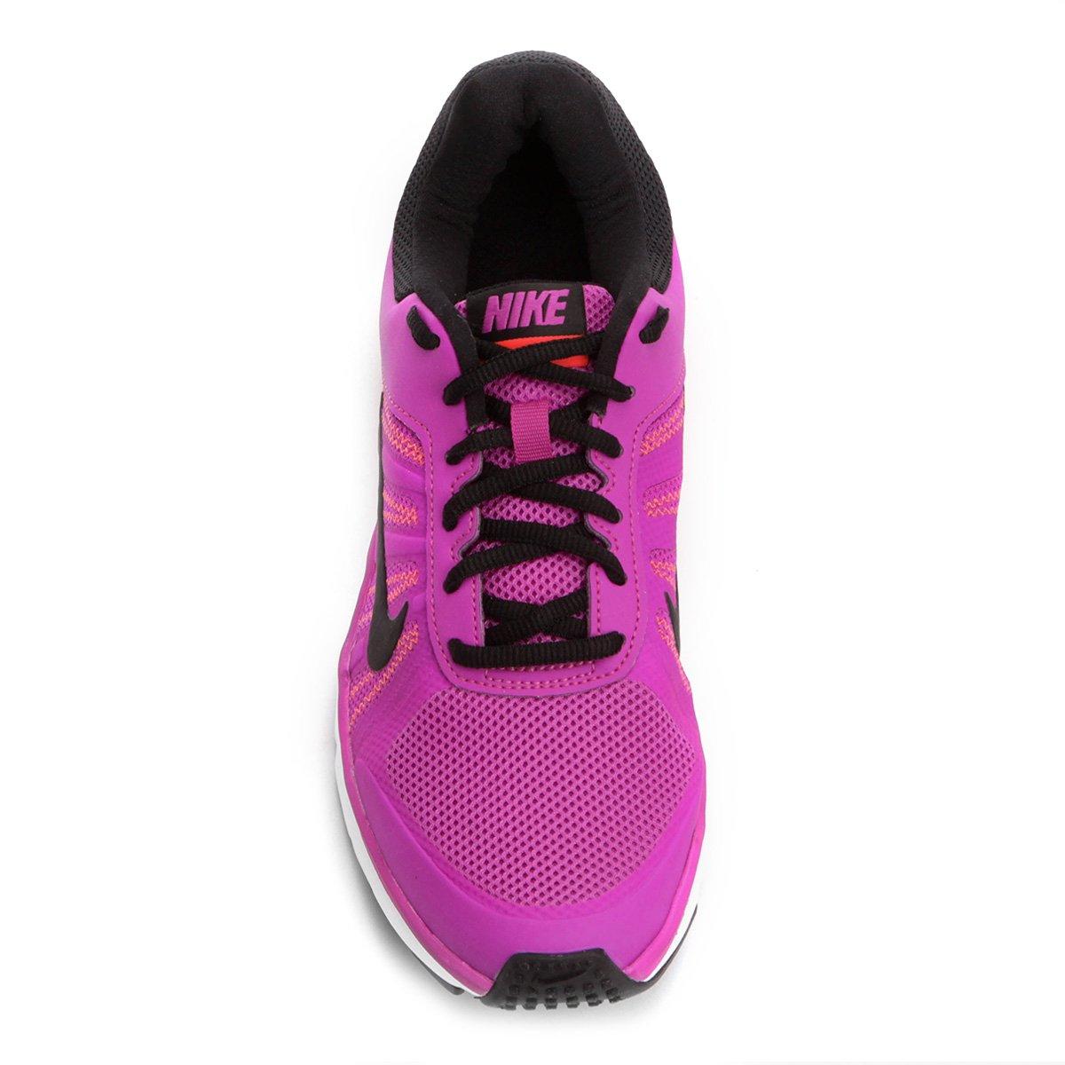 41de08398 Tênis Nike Dart 12 MSL Feminino - Violeta e Branco - Compre Agora ...