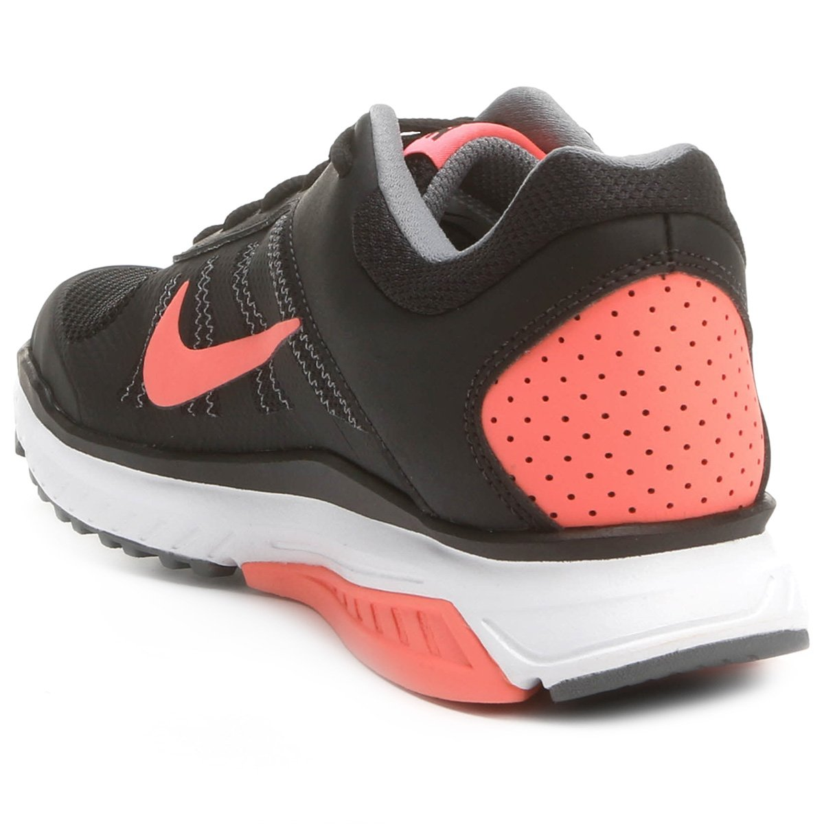 b75433a943 Tênis Nike Dart 12 MSL Feminino - Preto e Salmão - Compre Agora ...