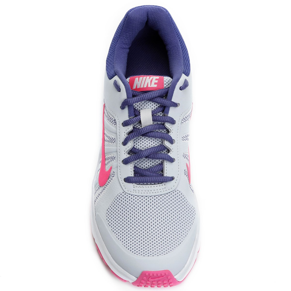 Tênis Nike Dart 12 MSL Feminino - Cinza e Rosa - Compre Agora  26670efbd6c05