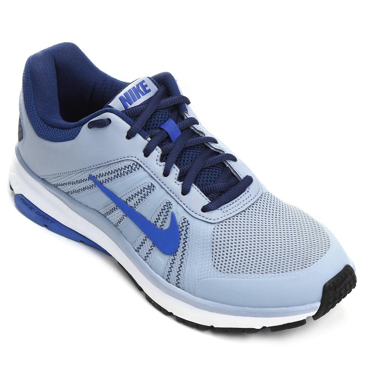 Tênis Nike Dart 12 MSL Masculino Azul Claro e Azul
