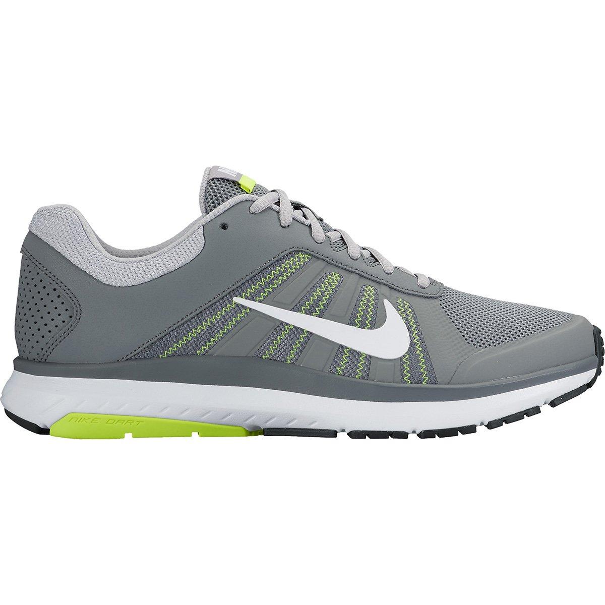 de734ebeb1dc0 Tênis Nike Dart 12 MSL Masculino - Cinza e Branco - Compre Agora ...