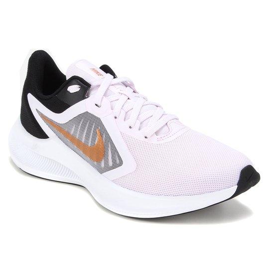 Tênis Nike Downshifter 10 Feminino - Roxo+Preto