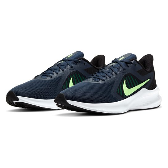 Tênis Nike Downshifter 10 Masculino - Chumbo