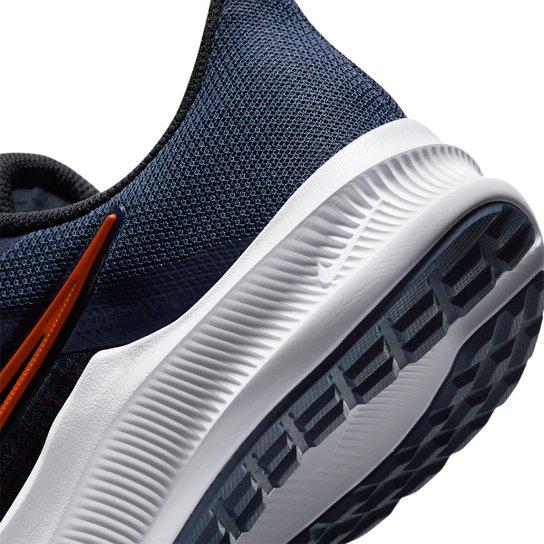 Tênis Nike Downshifter 11 Masculino - Azul+Vermelho