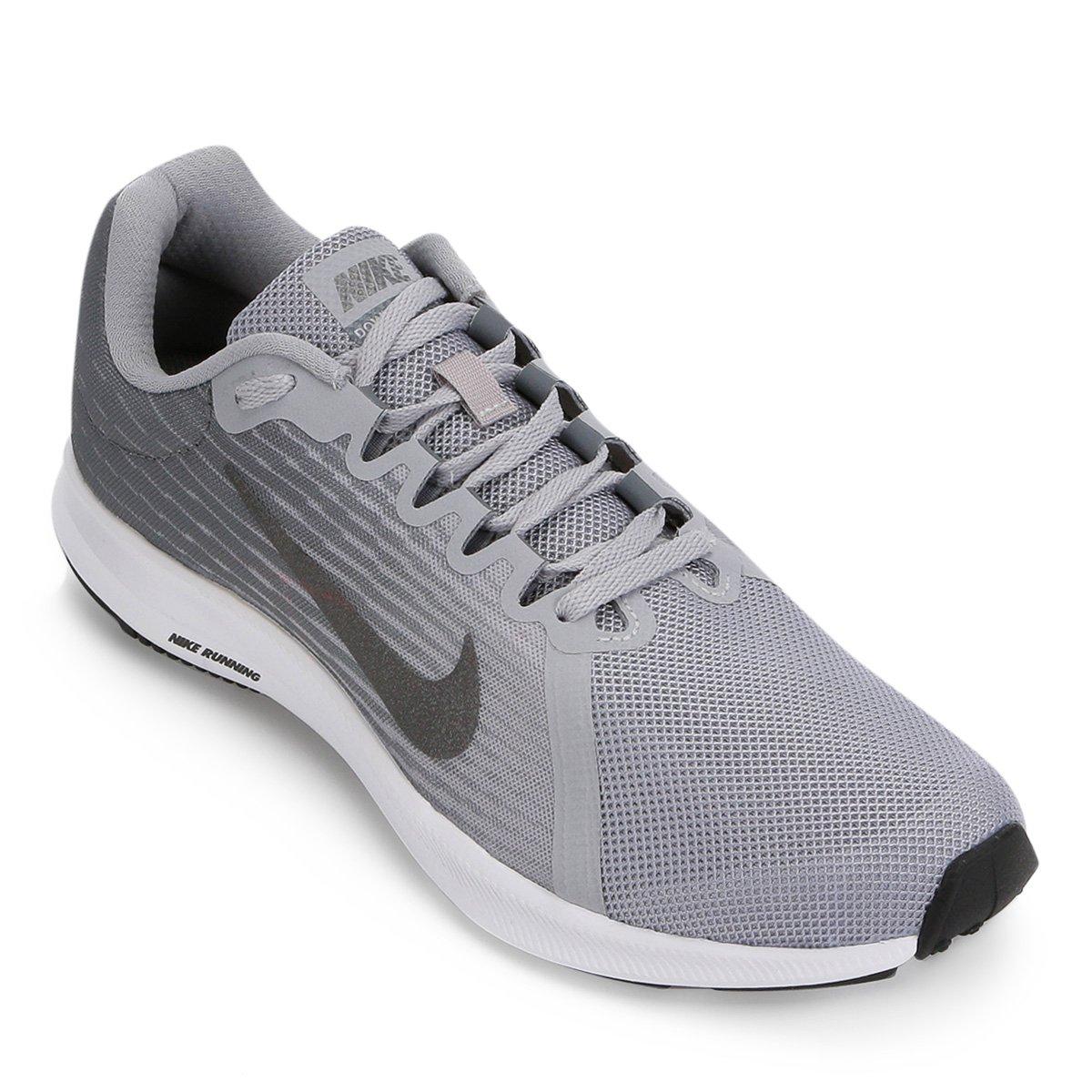 a675966edd6 Tênis Nike Downshifter 8 Masculino - Cinza e Preto - Compre Agora ...