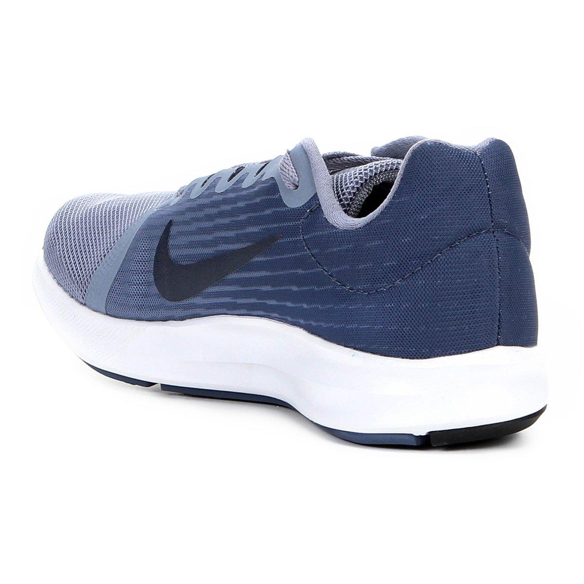 Tênis 8 Azul Nike Nike Downshifter Cinza e Masculino Tênis Downshifter rxwr1ZXq0