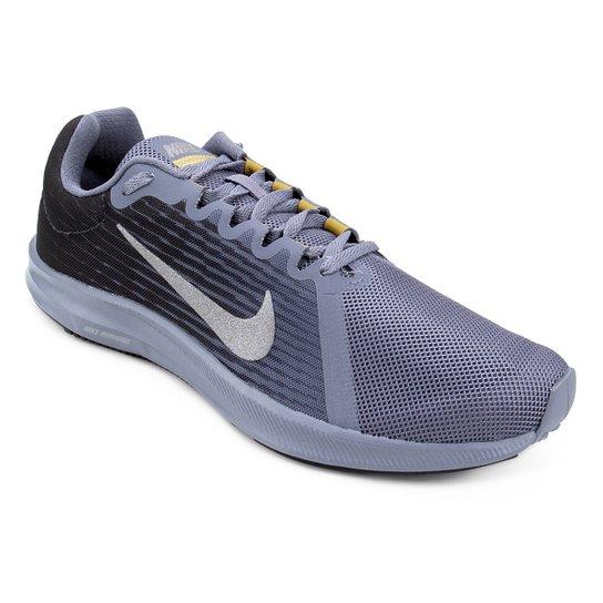 Tênis Nike Downshifter 8 Masculino - Preto+Cinza