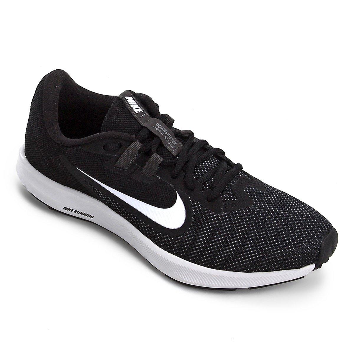 8d71d7b354 Tênis Nike Downshifter 9 Feminino - Preto e Branco | Netshoes