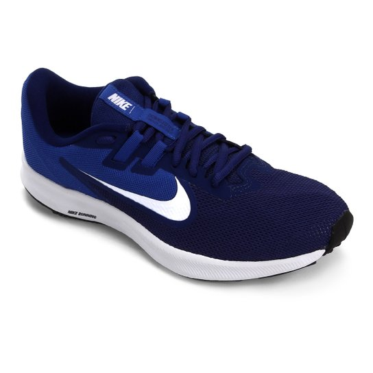 Tênis Nike Downshifter 9 Masculino - Marinho+Preto