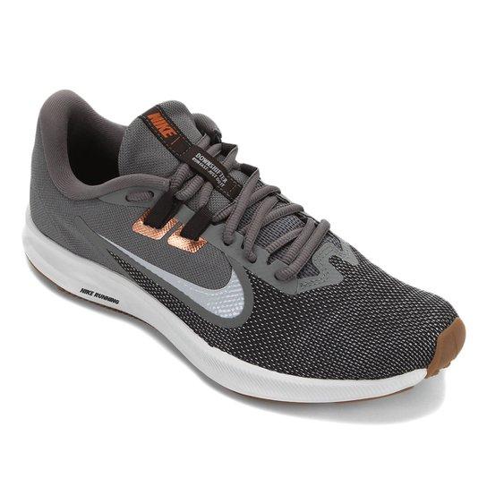 Tênis Nike Downshifter 9 Masculino - Cinza