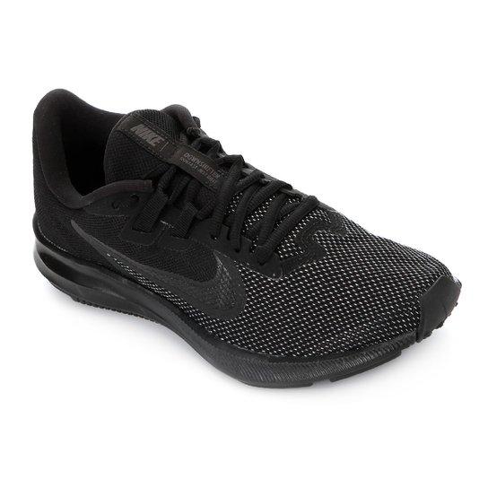 Tênis Nike Downshifter 9 Masculino - Preto+Chumbo