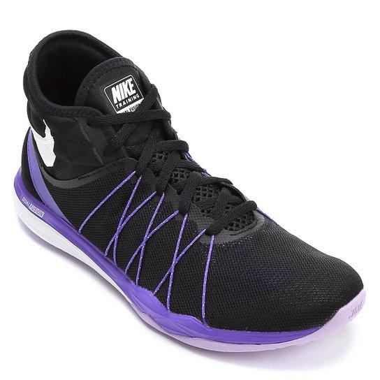 Tênis Nike Dual Fusion TR Hit Feminino - Preto+Roxo