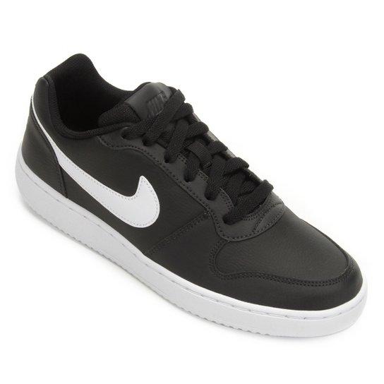 Tênis Nike Ebernon Low Masculino - Preto+Branco