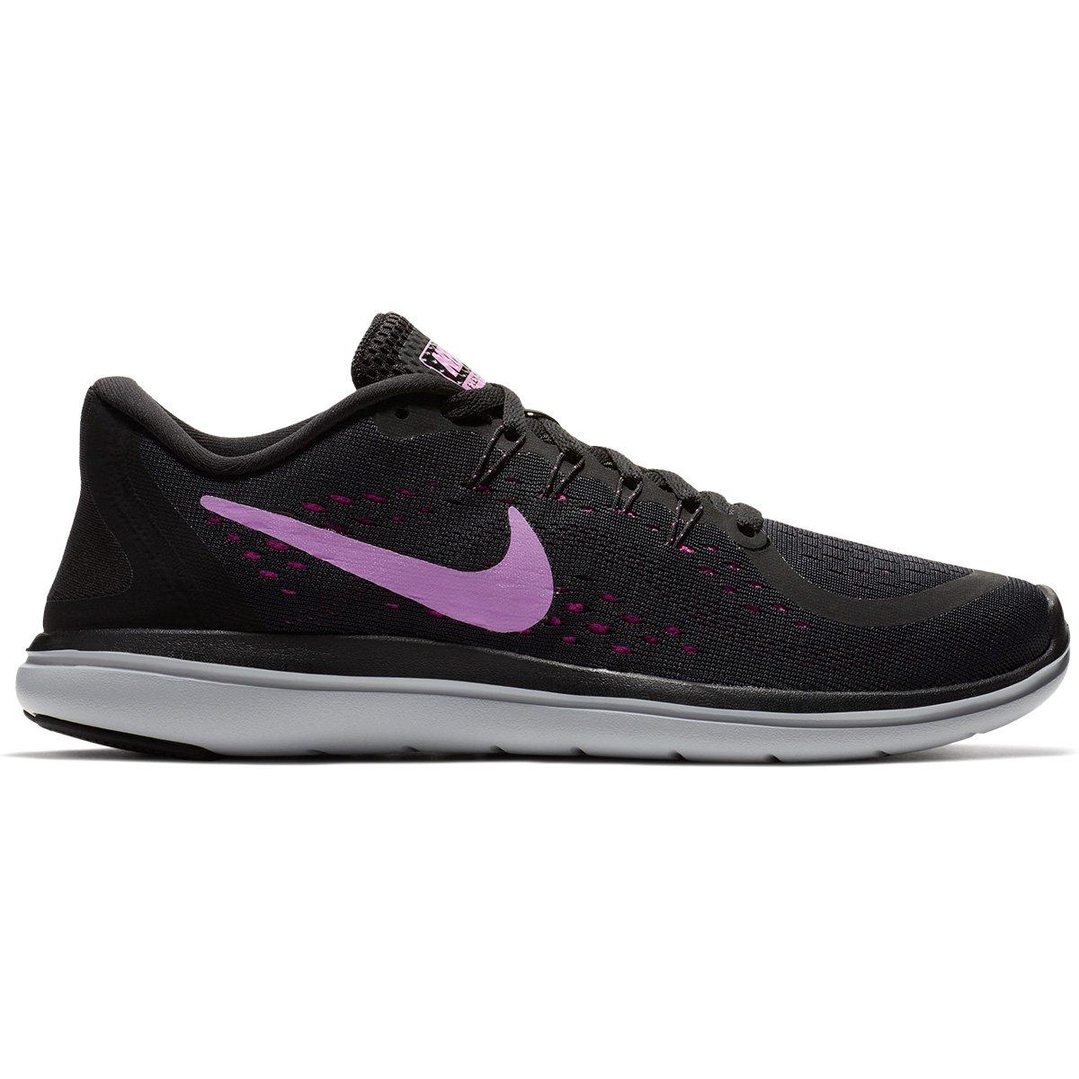 Tênis Nike Flex 2017 Rn Feminino Preto E Lilás