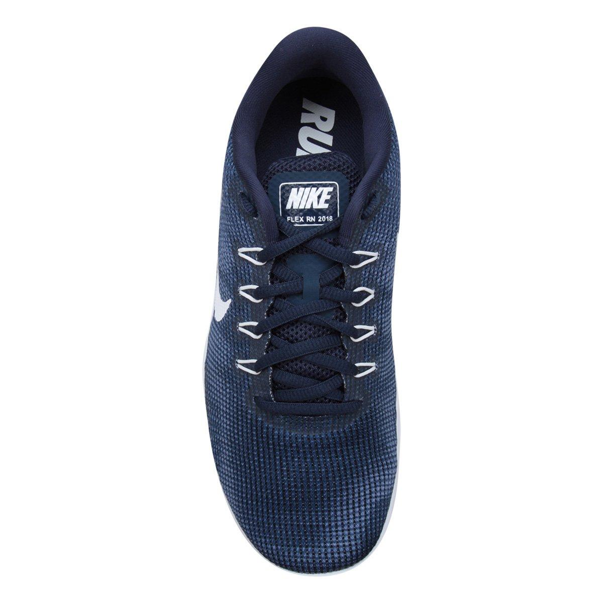 b52a2bb8c6 ... Masculino Rn Flex Azul Nike Tênis Branco e Tênis 2018 Nike 6RBq41gYwO  ...